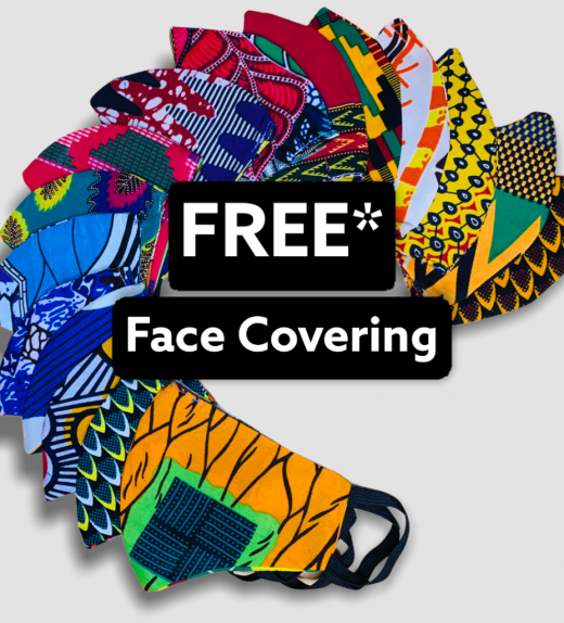 African Fabric Mask